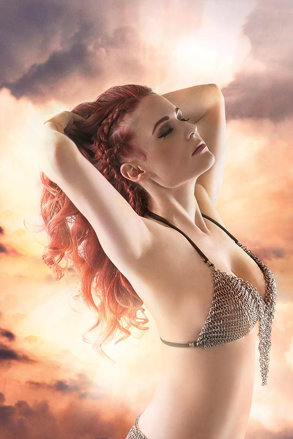 Red Sonja Birth Of The She-Devil #4 Cover H Incentive Cosplay Photo Virgin Cover