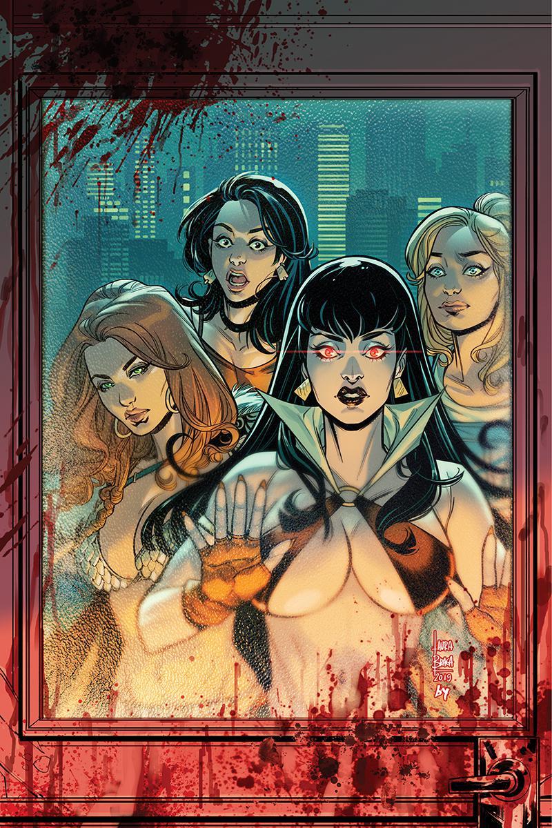 Red Sonja And Vampirella Meet Betty And Veronica #5 Cover J Incentive Laura Braga Virgin Cover