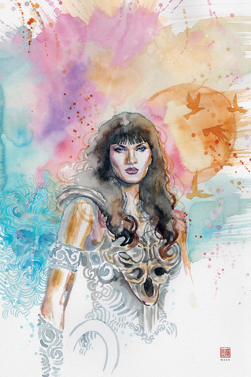 Xena Warrior Princess Vol 4 #6 Cover D Incentive David Mack Virgin Cover