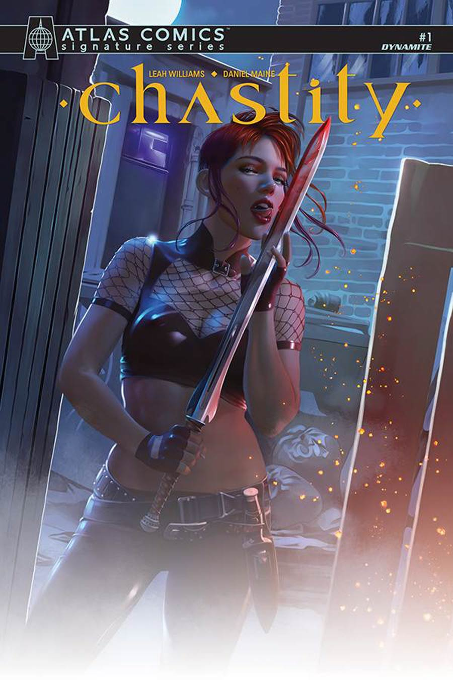 Chastity Vol 2 #1 Cover N Atlas Comics Signature Series Signed By Leah Williams