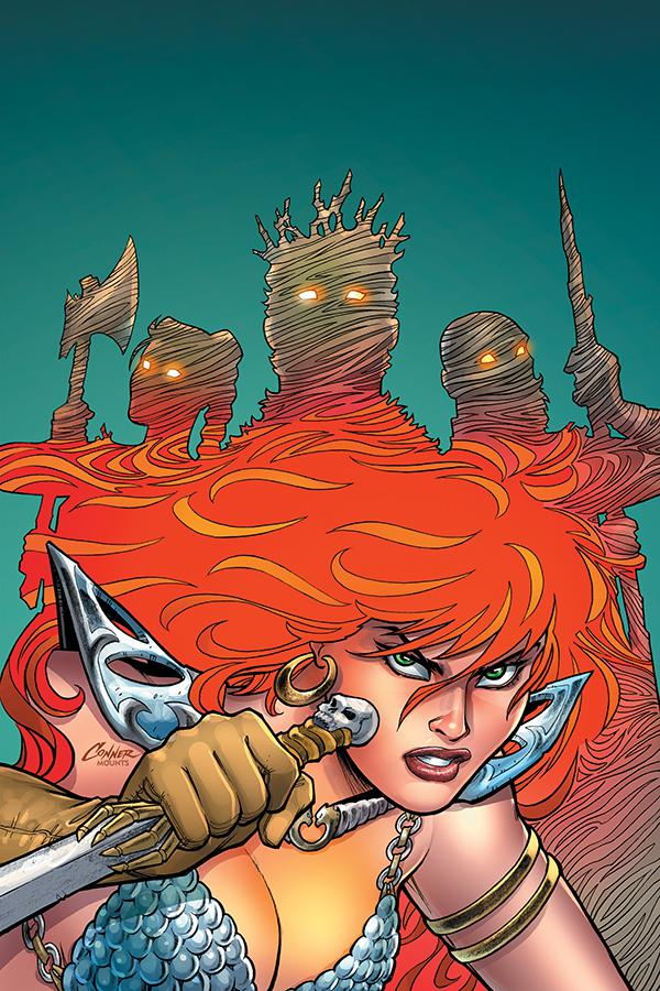 Red Sonja Vol 8 #8 Cover P High-End Amanda Conner Virgin Cover
