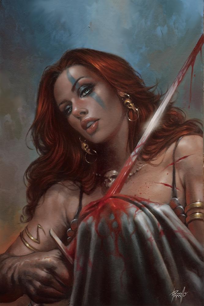 Red Sonja Birth Of The She-Devil #4 Cover I Limited Edition Lucio Parrillo Virgin Cover
