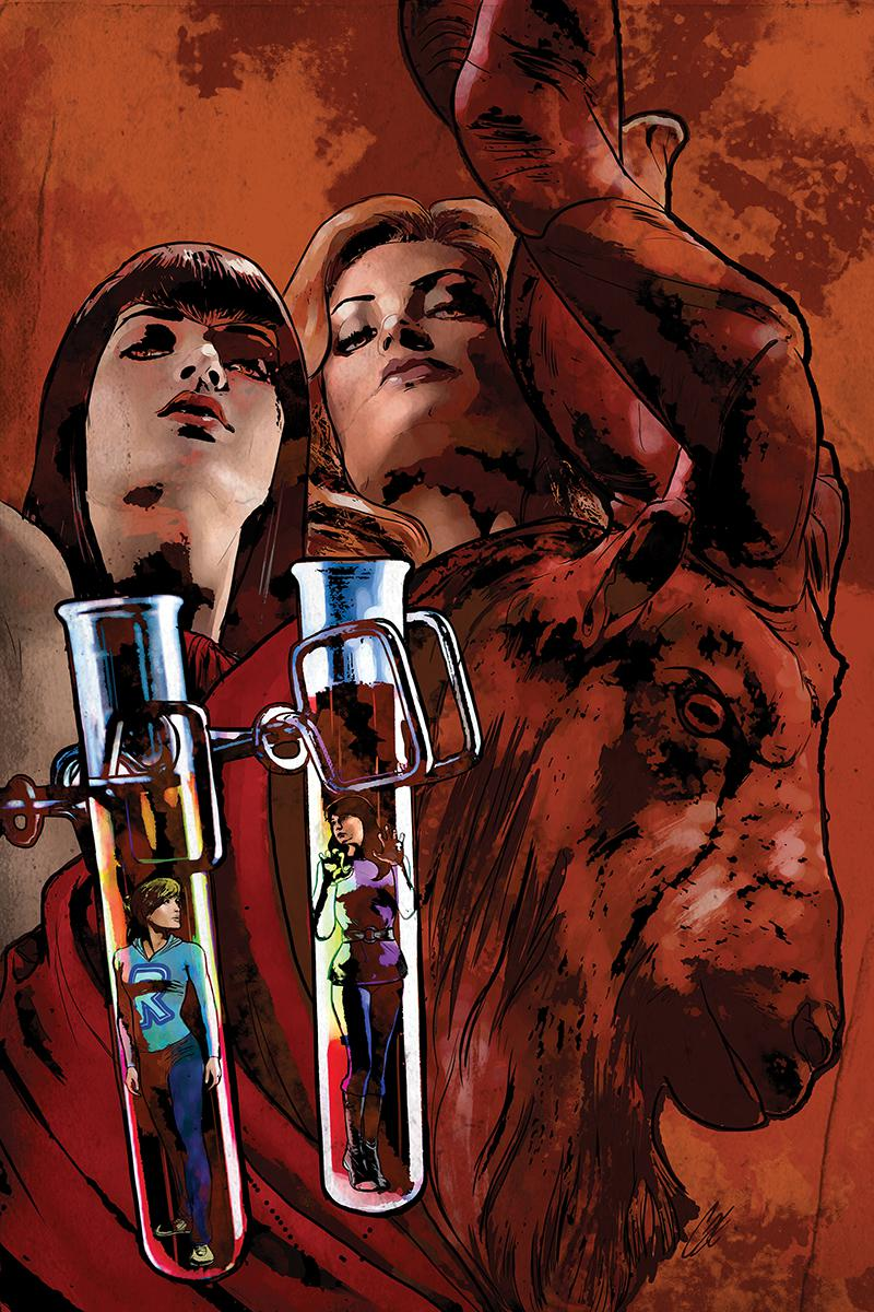 Red Sonja And Vampirella Meet Betty And Veronica #5 Cover M High-End Cat Staggs Virgin Cover