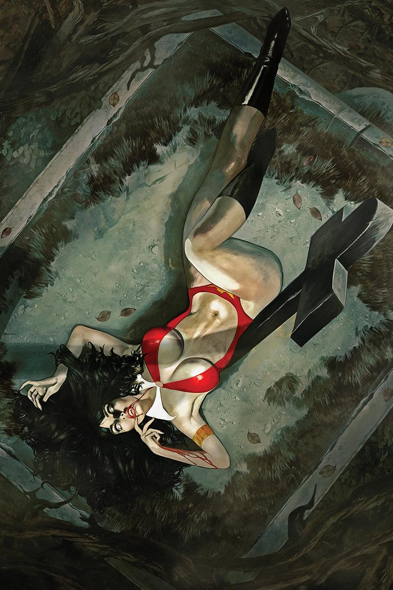 Vampirella Vol 8 #3 Cover Q Limited Edition Fay Dalton Virgin Cover