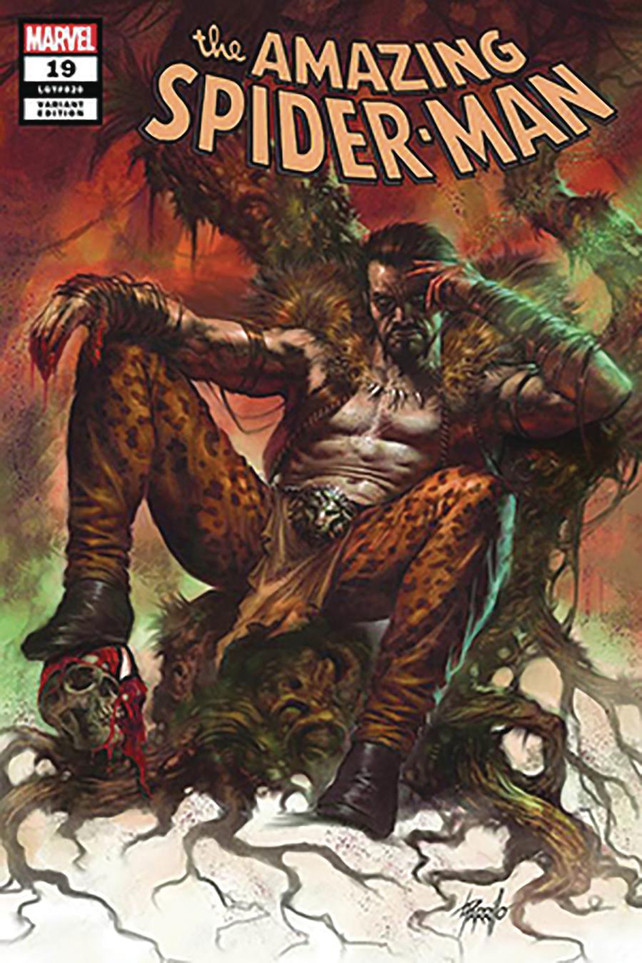 Amazing Spider-Man Vol 5 #19 Cover E DF Comicxposure Exclusive Lucio Parrillo Variant Cover