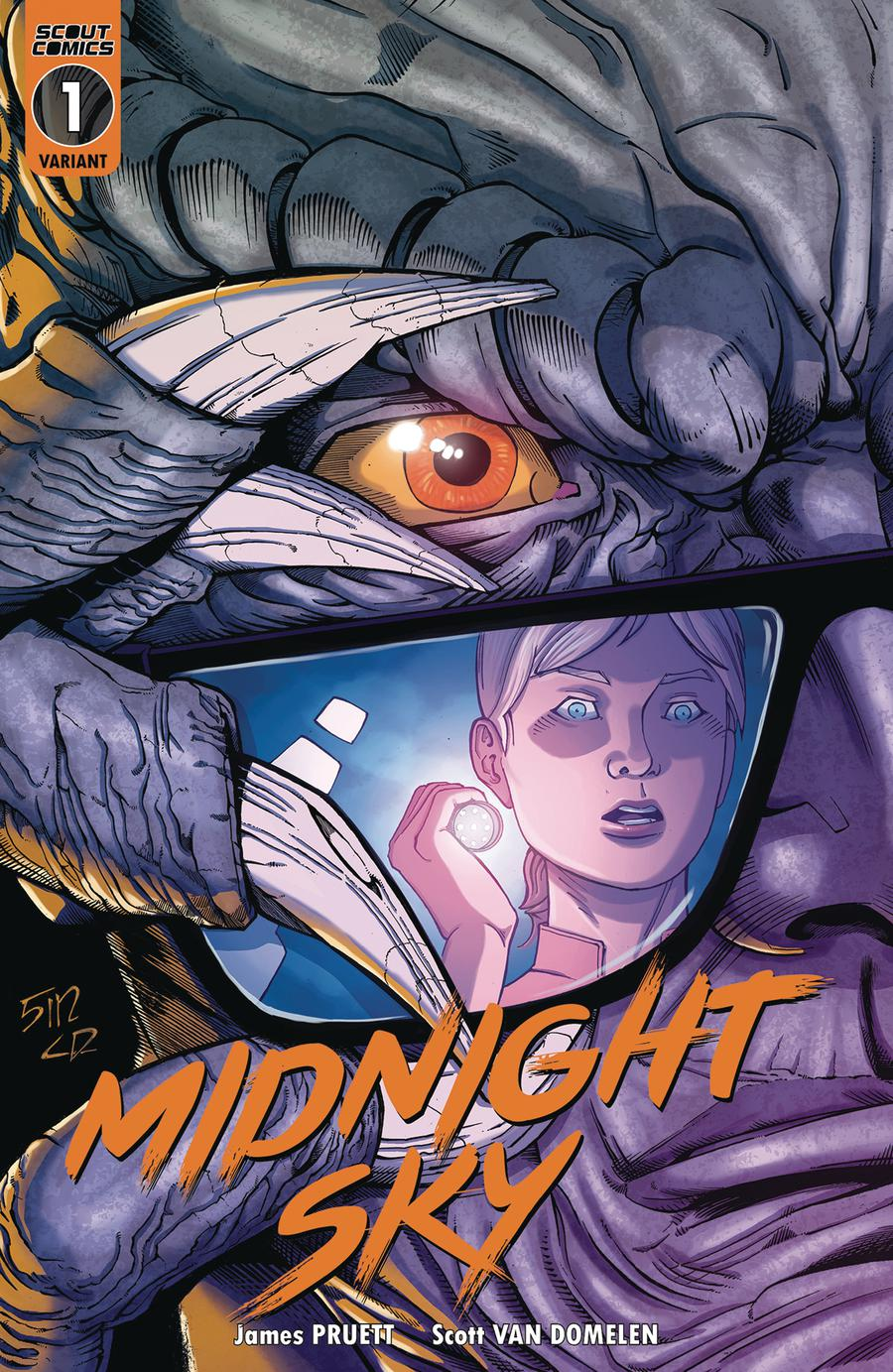 Midnight Sky #1 Cover C Variant Ralf Singh Cover