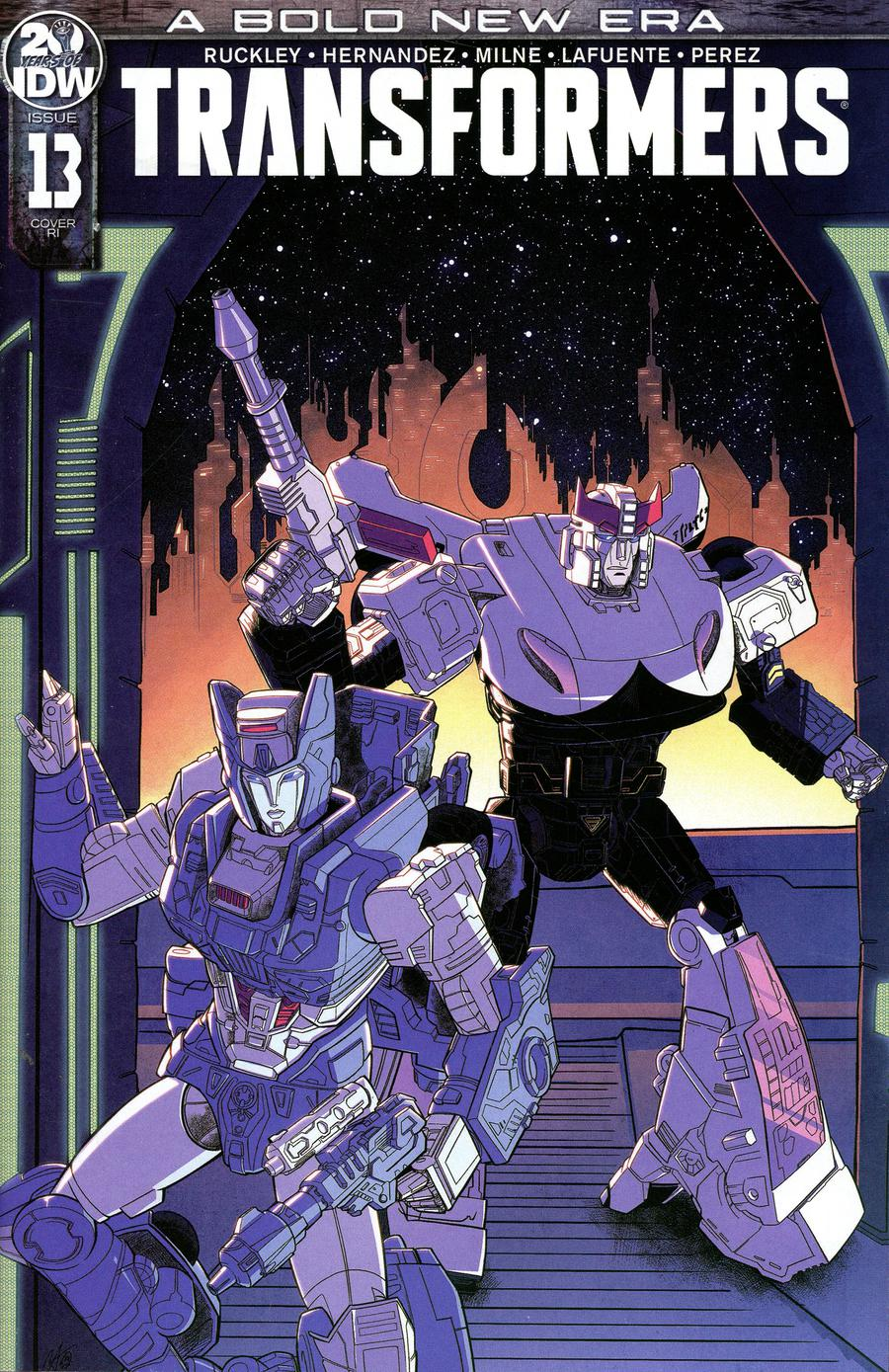Transformers Vol 4 #13 Cover C Incentive Blacky Shepherd Variant Cover