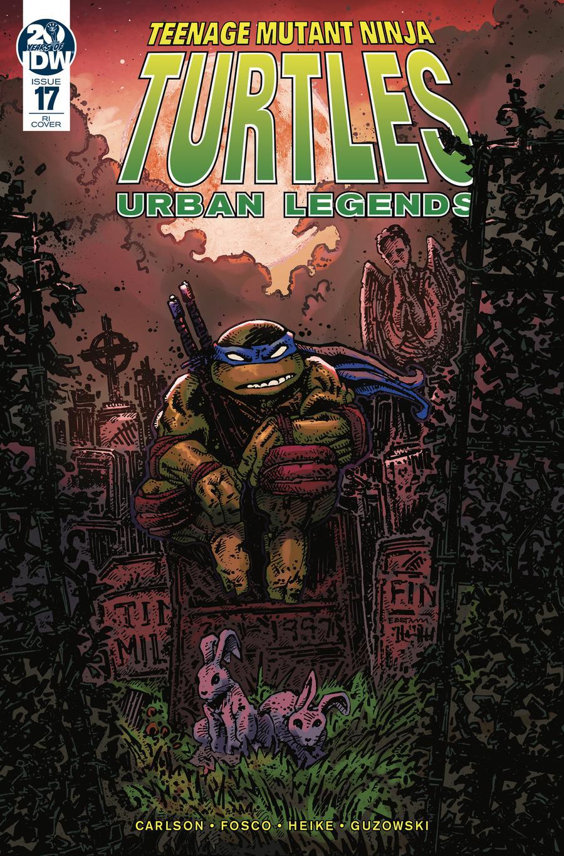 Teenage Mutant Ninja Turtles Urban Legends #17 Cover C Incentive Kevin Eastman Variant Cover