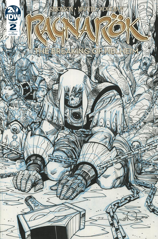 Ragnarok Breaking Of Helheim #2 Cover B Incentive Walter Simonson Variant Cover