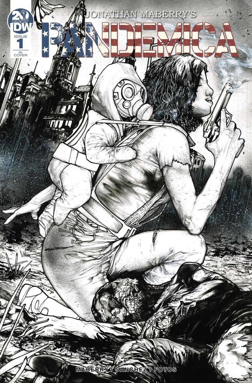 Pandemica #1 Cover B Incentive Alex Sanchez Variant Cover