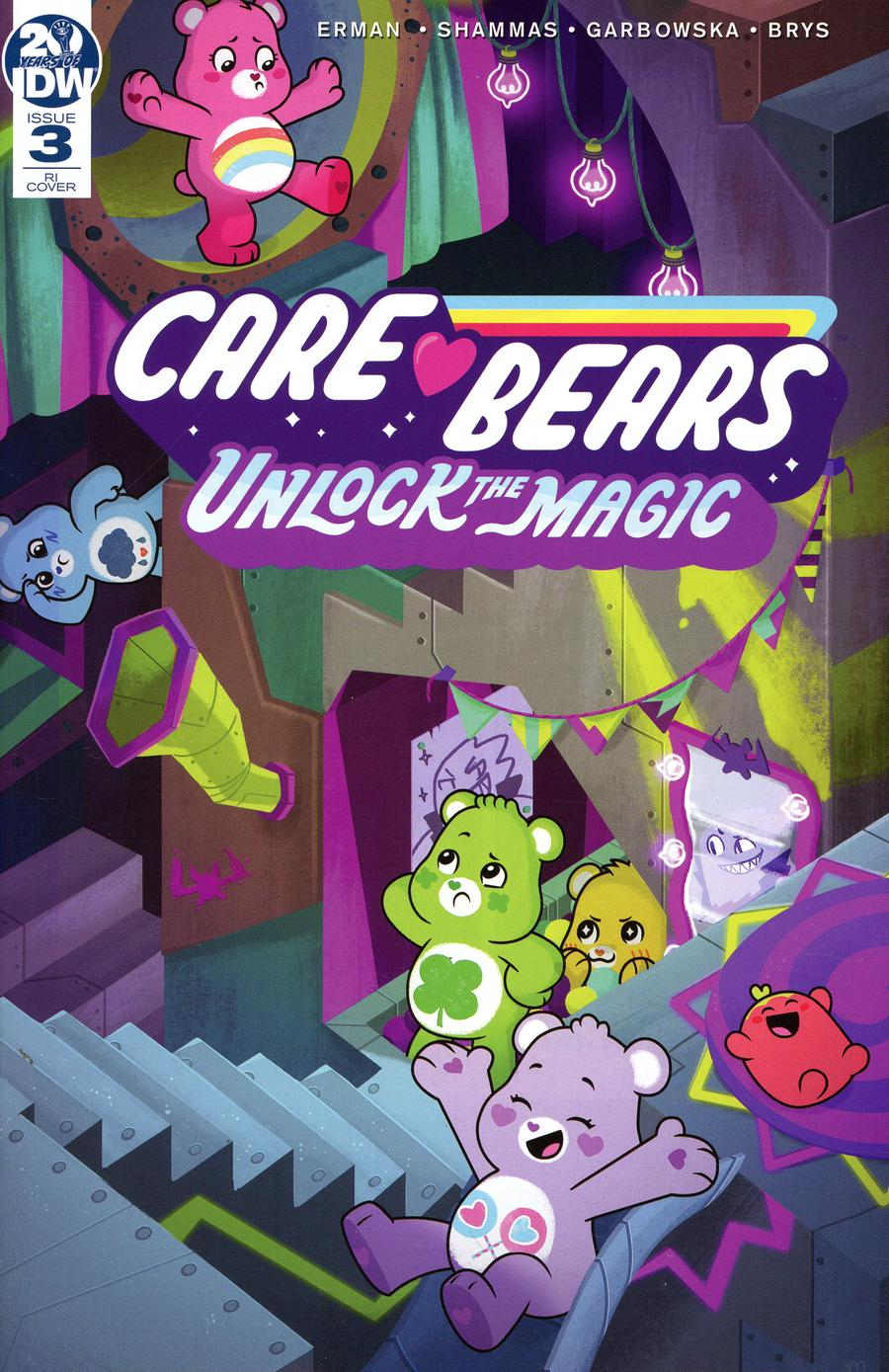 Care Bears Unlock The Magic #3 Cover B Incentive Muffy Levy Variant Cover