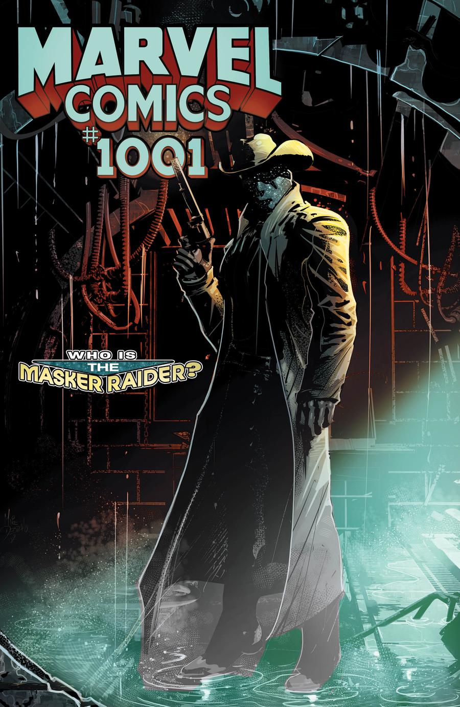 Marvel Comics #1001 Cover C Incentive Mike Deodato Jr Spoiler Variant Cover
