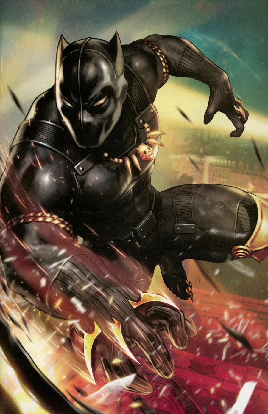 Black Panther And The Agents Of Wakanda #1 Cover C Incentive Yoon Lee Game Variant Cover