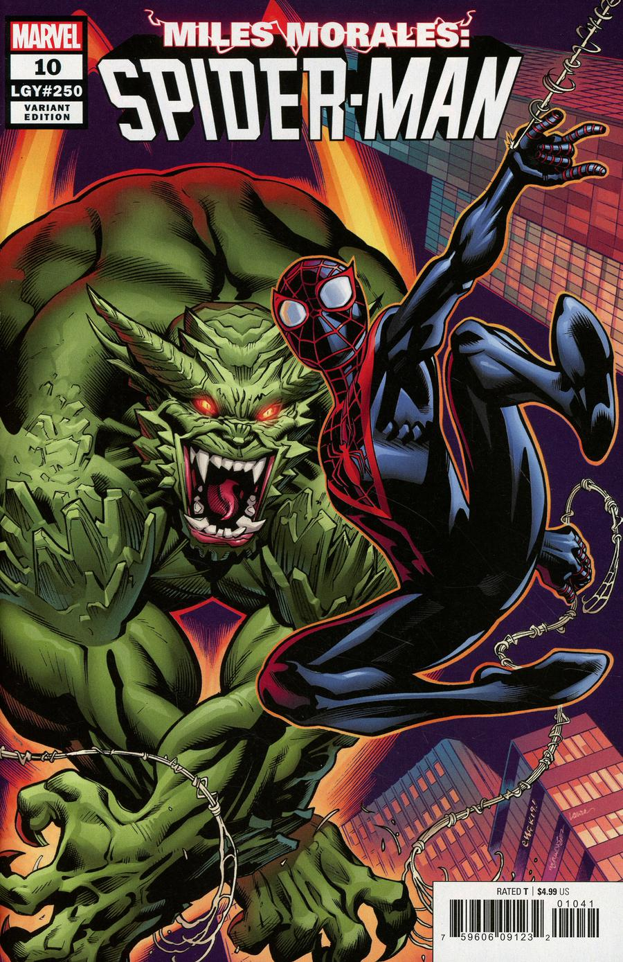Miles Morales Spider-Man #10 Cover D Incentive Ed McGuinness Variant Cover
