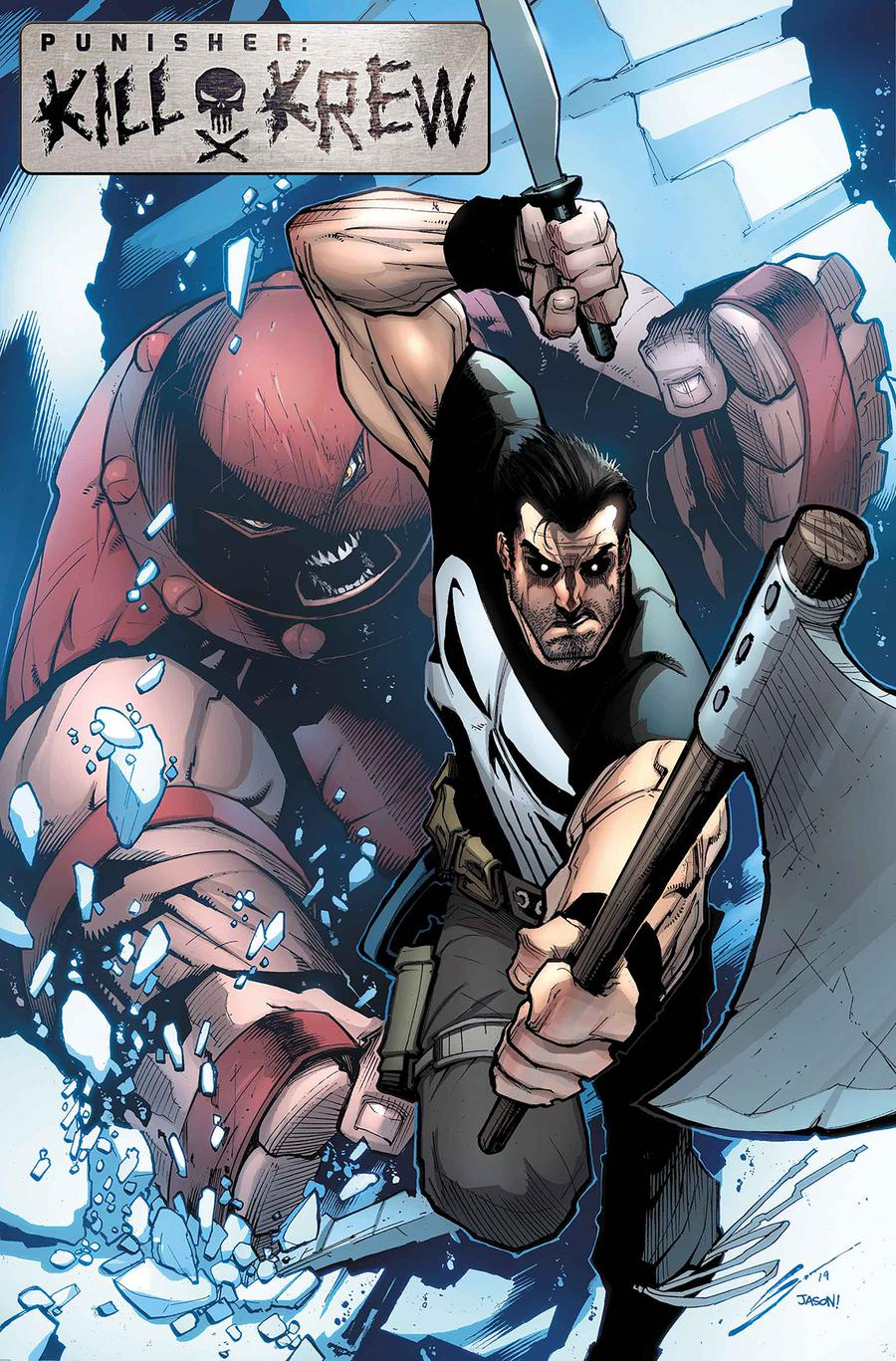 Punisher Kill Krew #3 Cover B Incentive Gerardo Sandoval Variant Cover
