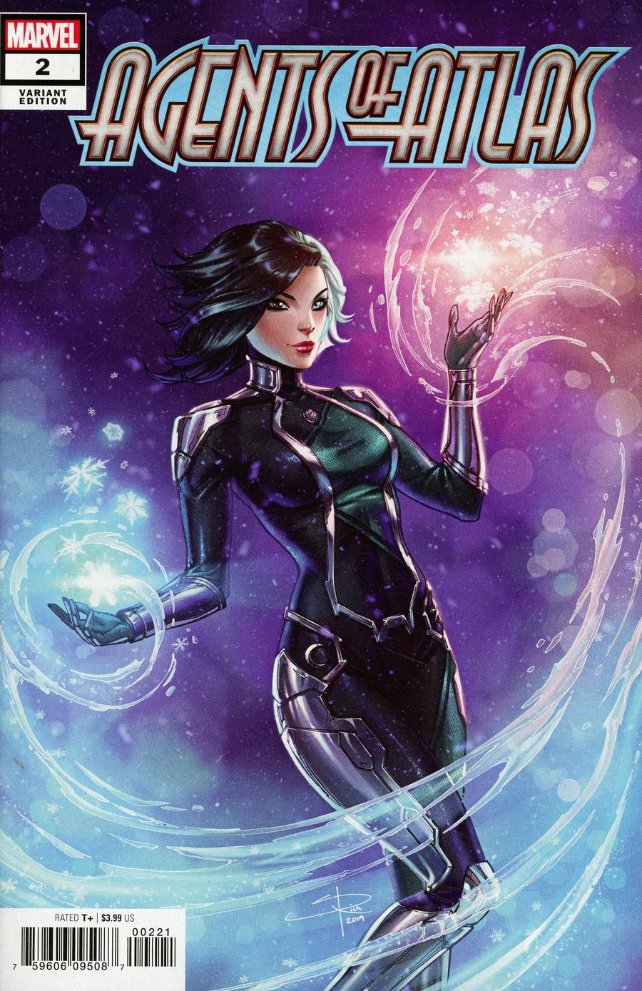 Agents Of Atlas Vol 3 #2 Cover B Incentive Sabine Rich Variant Cover