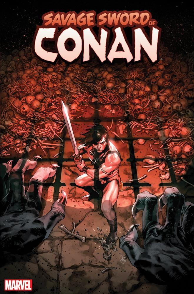 Savage Sword Of Conan #9 Cover B Incentive Yasmine Putri Variant Cover