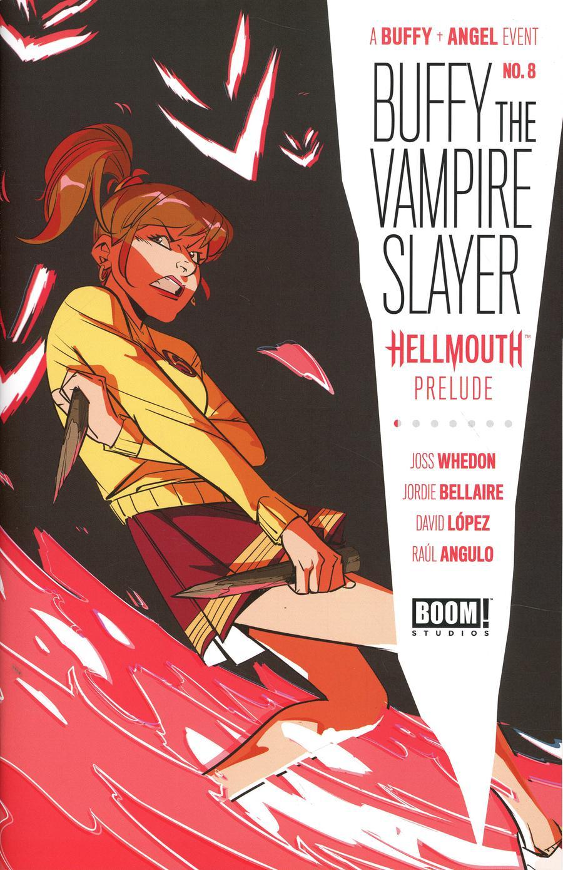 Buffy The Vampire Slayer Vol 2 #8 Cover G Incentive Daniele Di Nicuolo Variant Cover