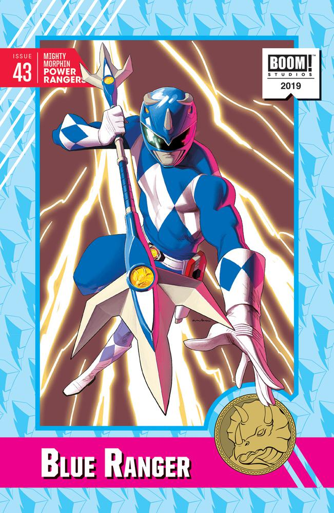 Mighty Morphin Power Rangers (BOOM Studios) #43 Cover D Incentive Kris Anka Variant Cover