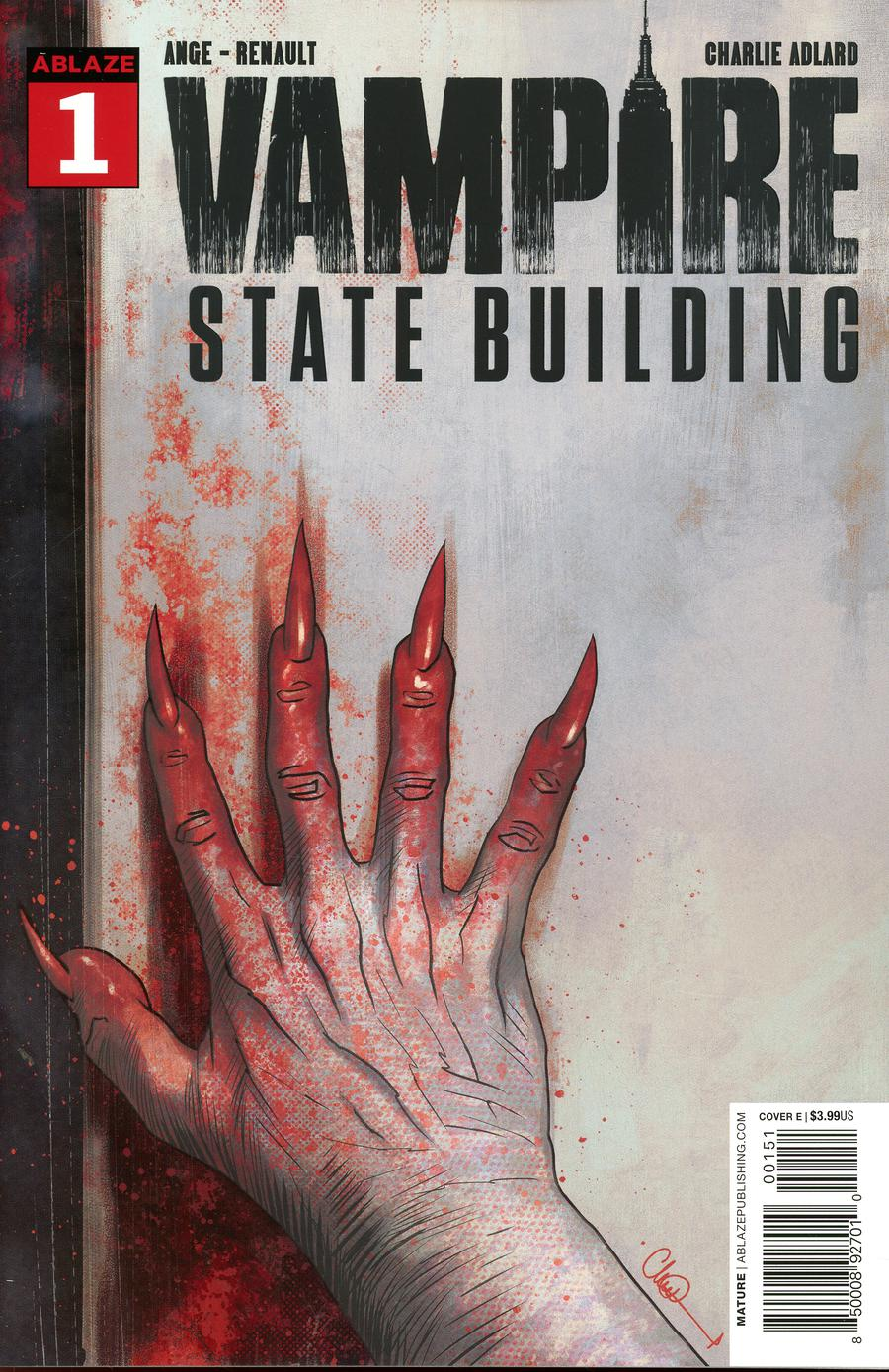 Vampire State Building #1 Cover E Incentive Glow-In-The-Dark Variant Cover