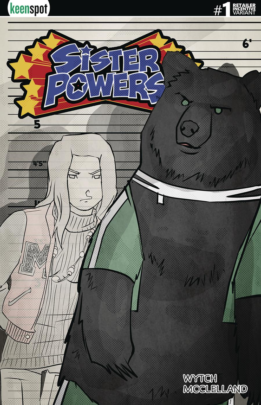 Sister Powers #1 Cover E Incentive Transformed Variant Cover