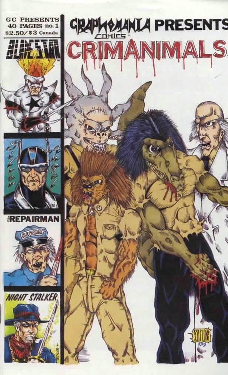 Graphomania Comics Presents #1