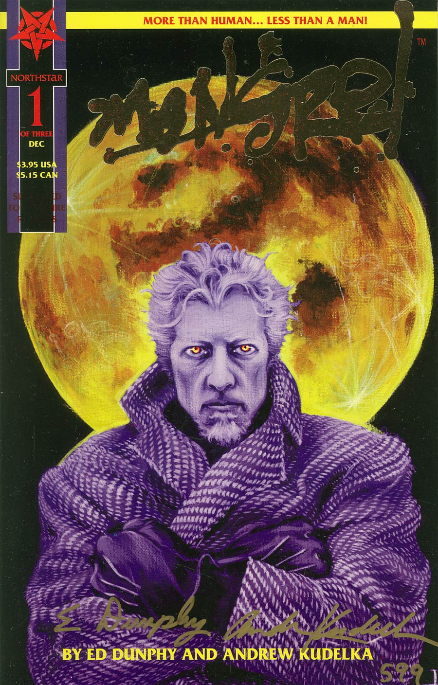 Mongrel #1 Cover D Gold Edition Without Registration Card