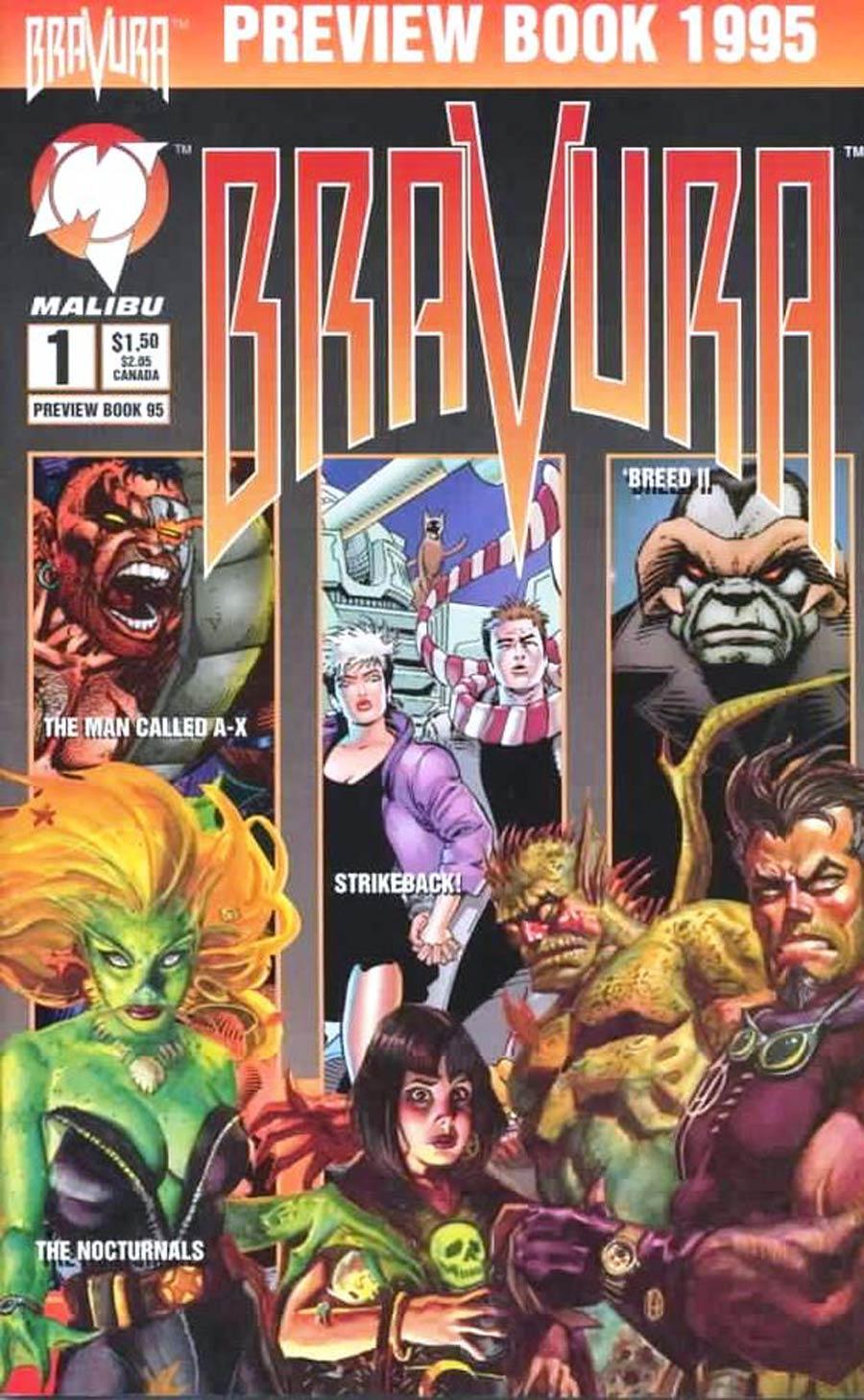 Bravura Preview Book 1995