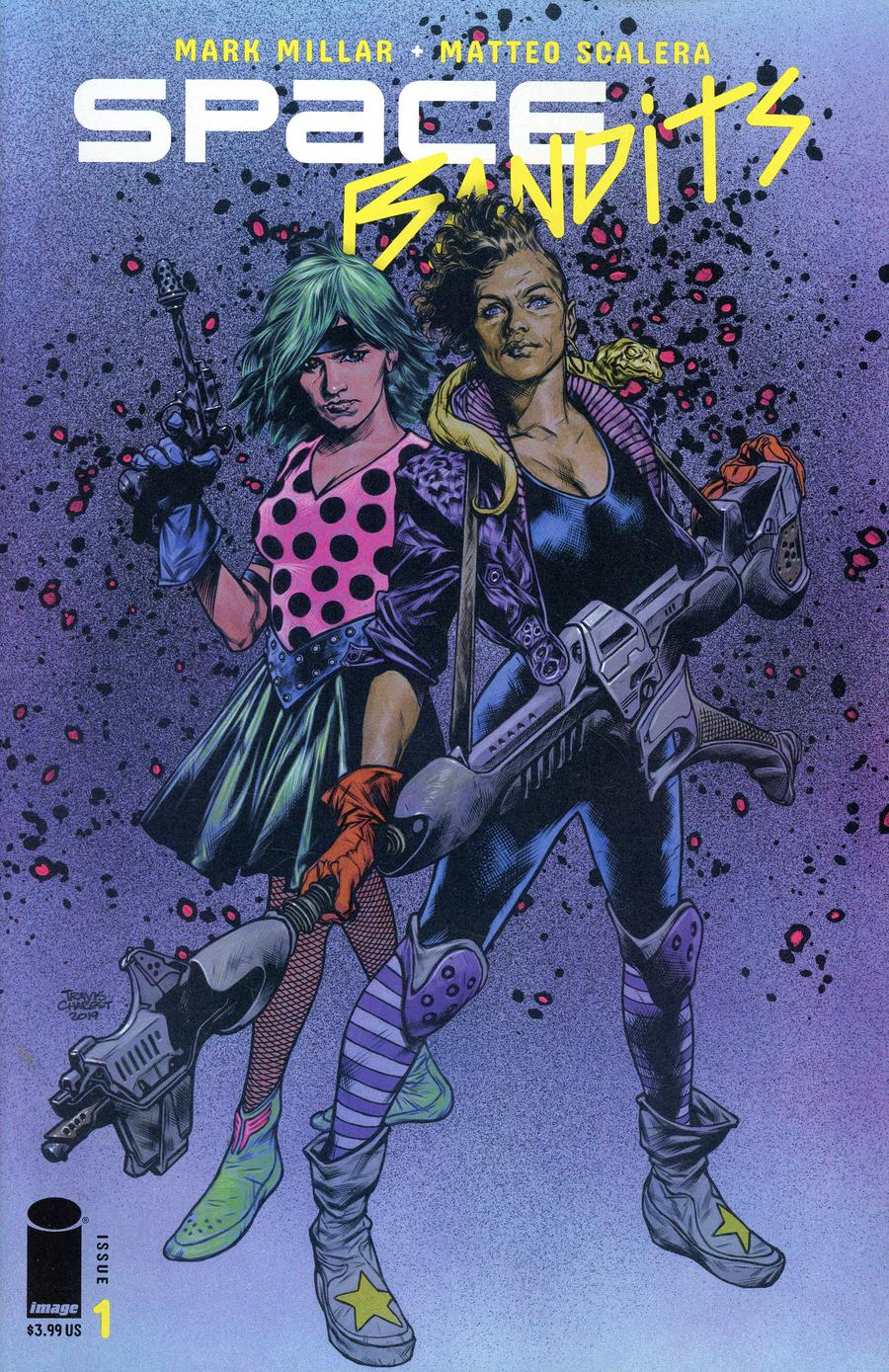 Space Bandits #1 Cover G Variant Travis Charest Cover
