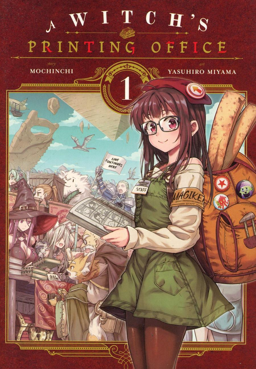Witchs Printing Office Vol 1 GN