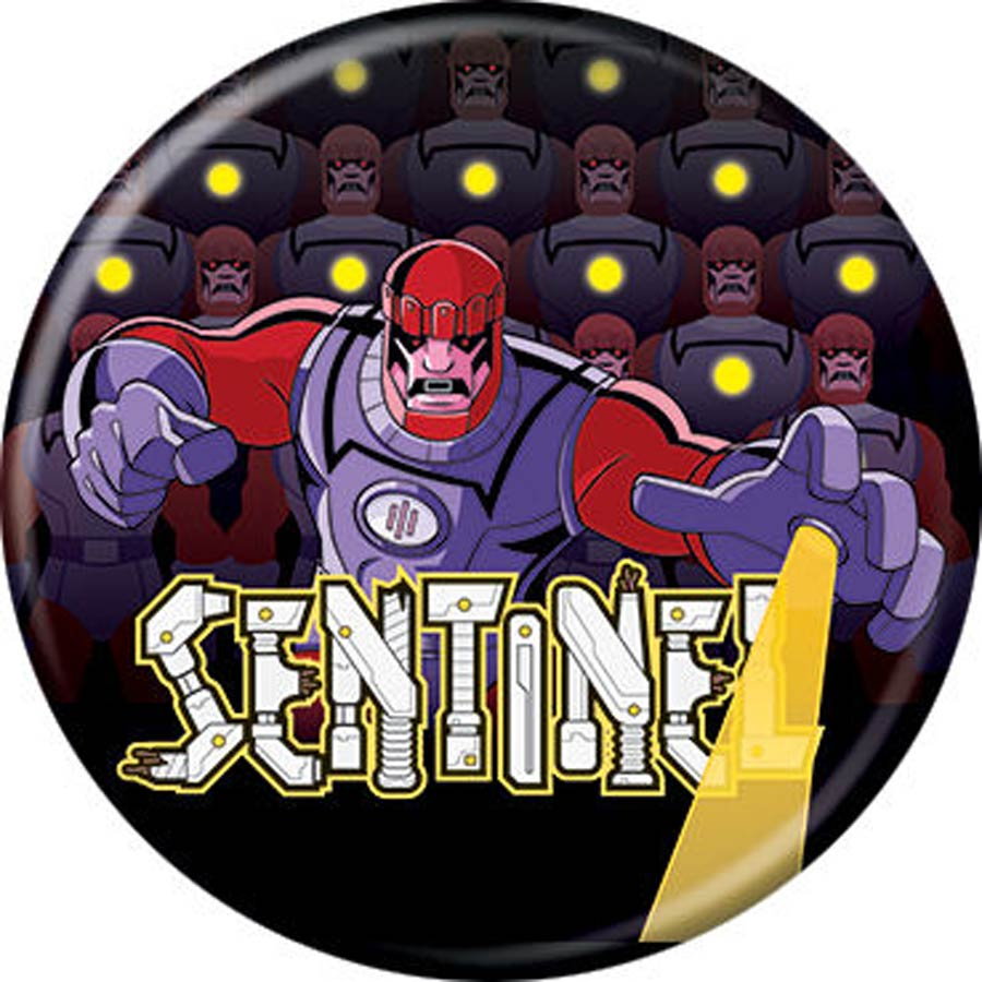 X-Men Cartoon 92 1.25-inch Button - Sentinel (87407)