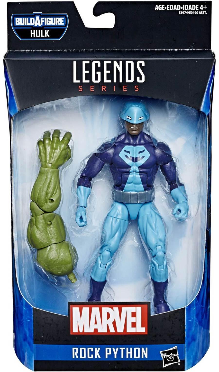 Marvel Avengers Legends 2019 6-Inch Action Figure - Rock Python