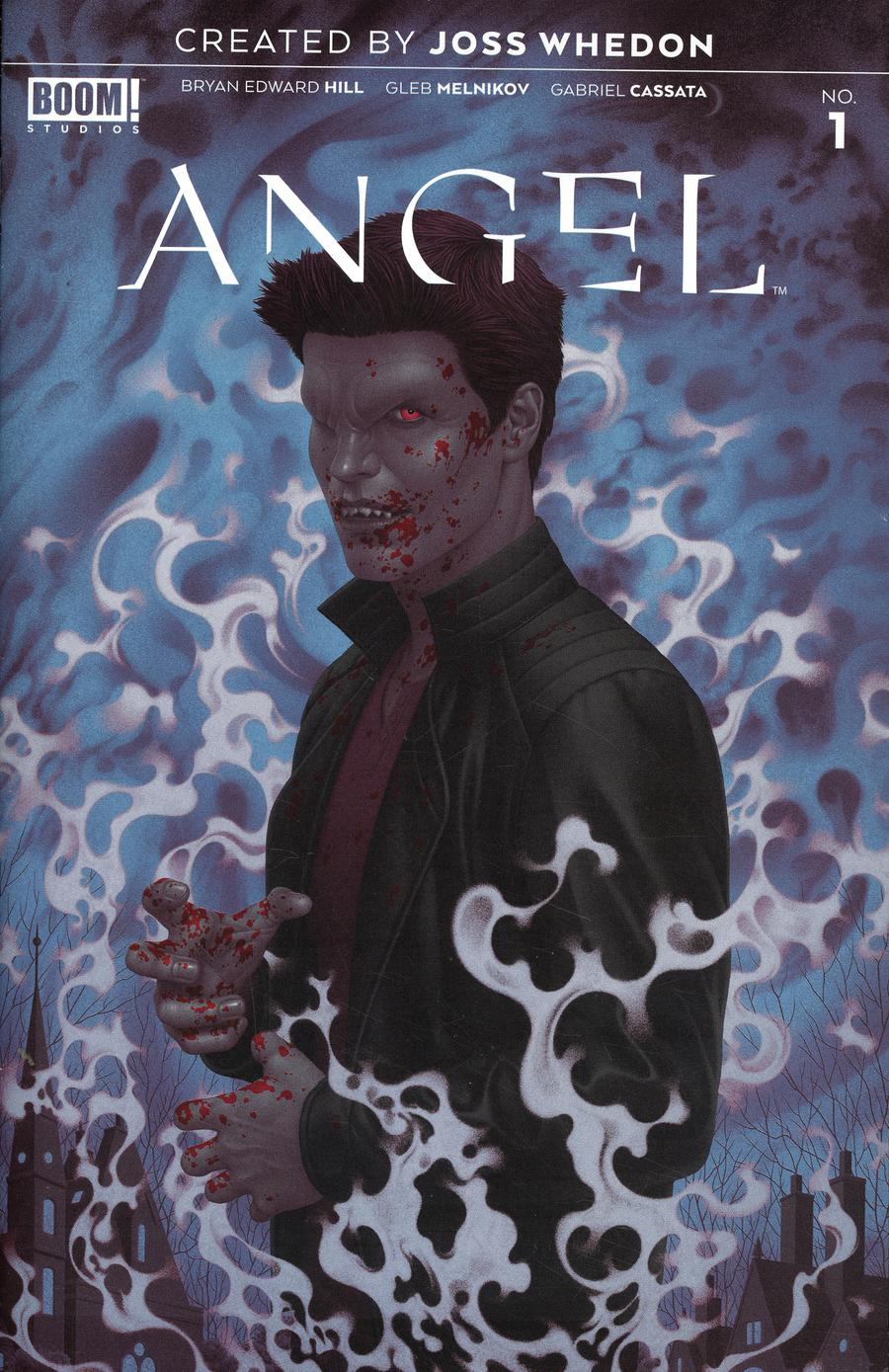 Angel Vol 4 #1 Cover F 2nd Ptg Variant Boris Pelcer Cover