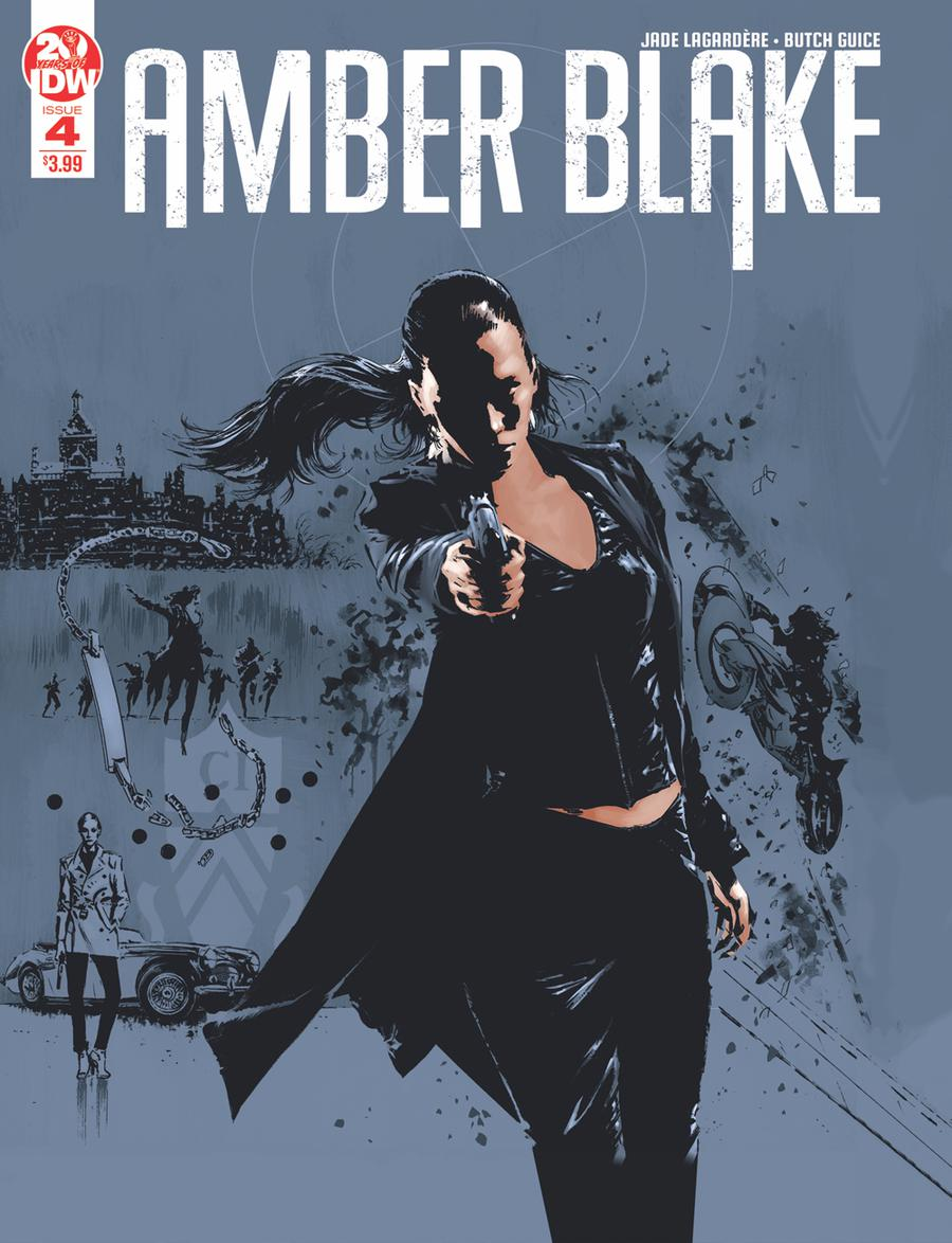 Amber Blake #4 Cover C 2nd Ptg Variant Butch Guice Cover