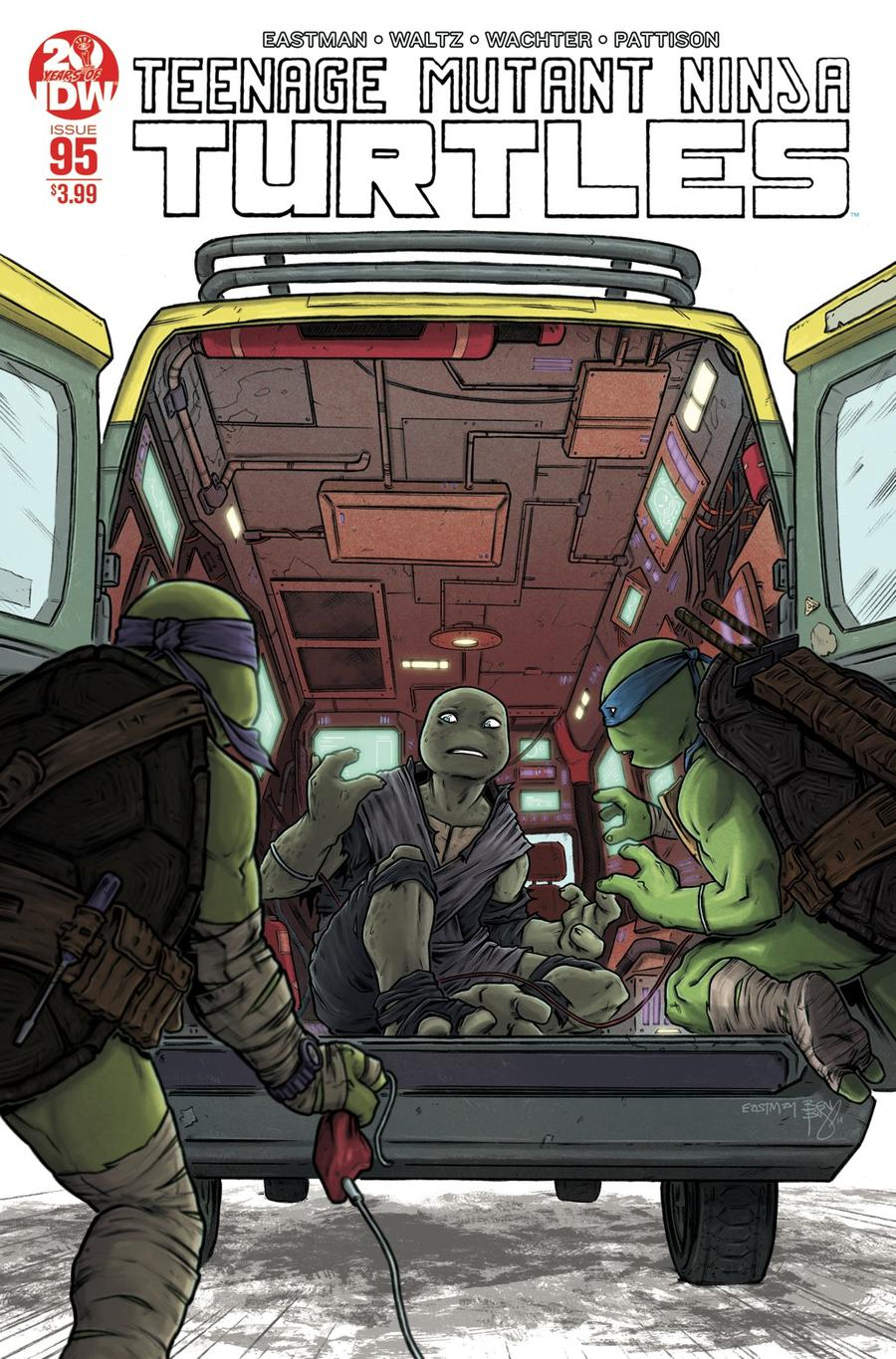 Teenage Mutant Ninja Turtles Vol 5 #95 Cover D 2nd Ptg