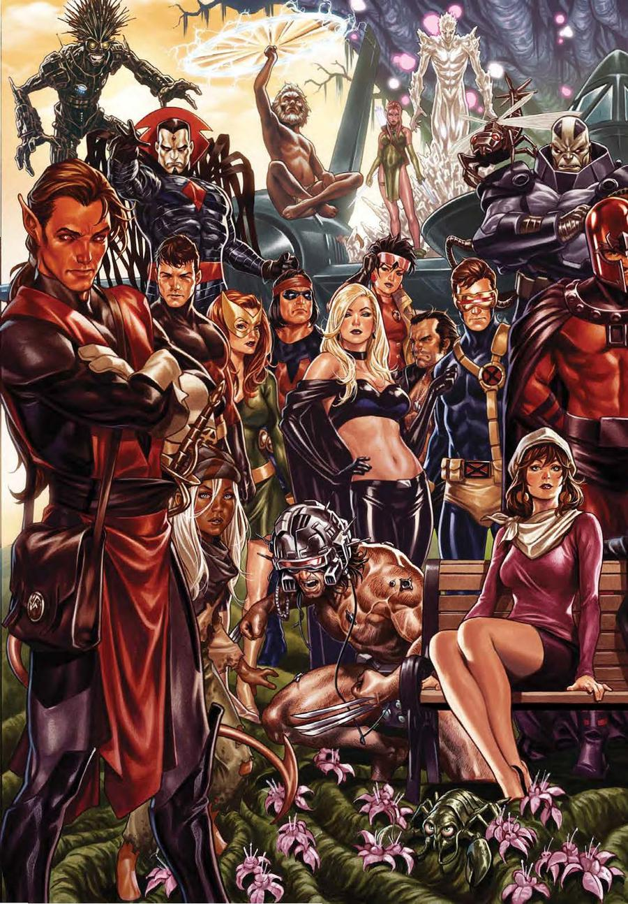 House Of X #1 Cover N Incentive Mark Brooks Virgin Connecting Variant Cover