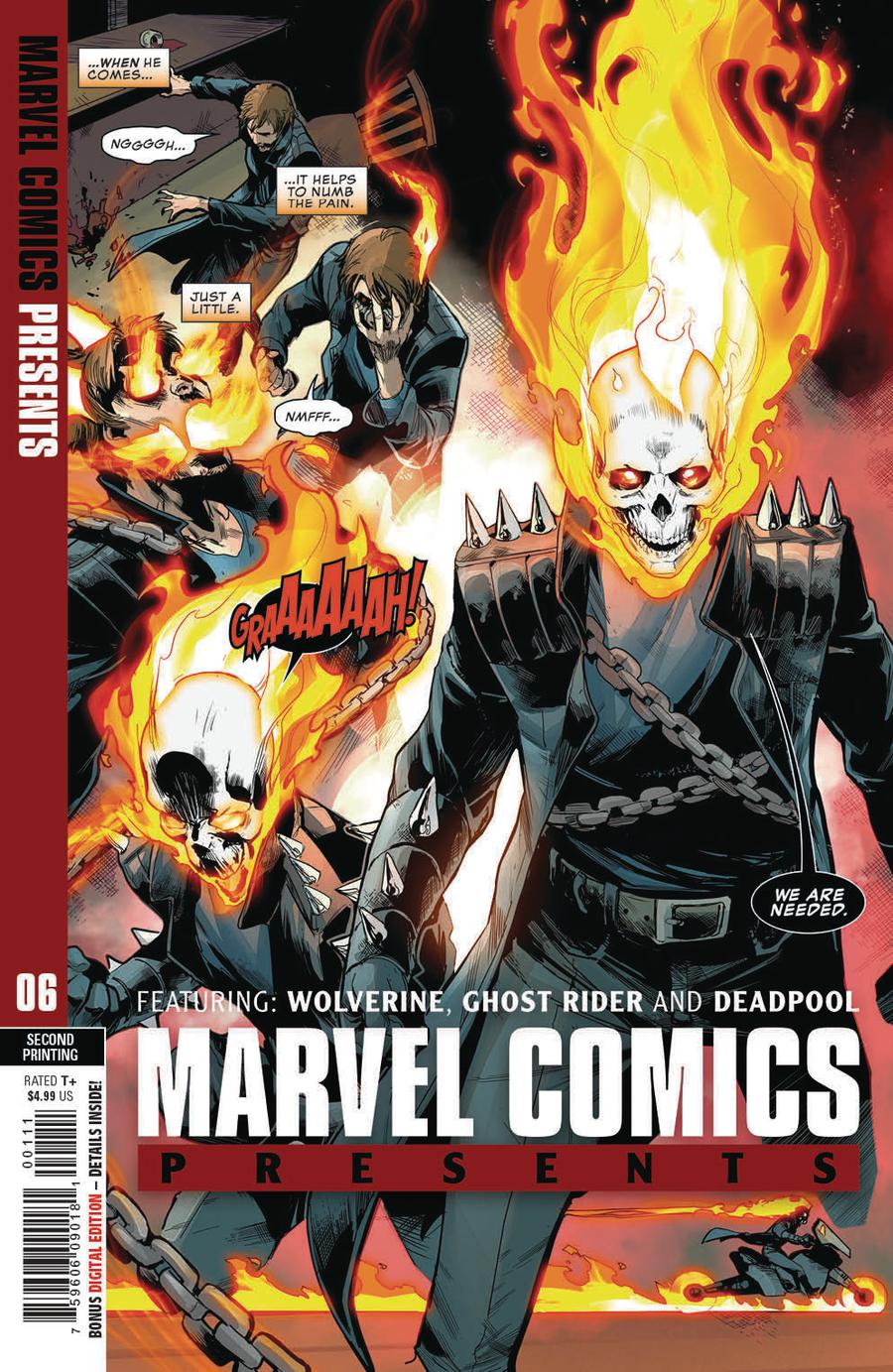 Marvel Comics Presents Vol 3 #6 Cover B 2nd Ptg Variant Juan Frigeri Cover