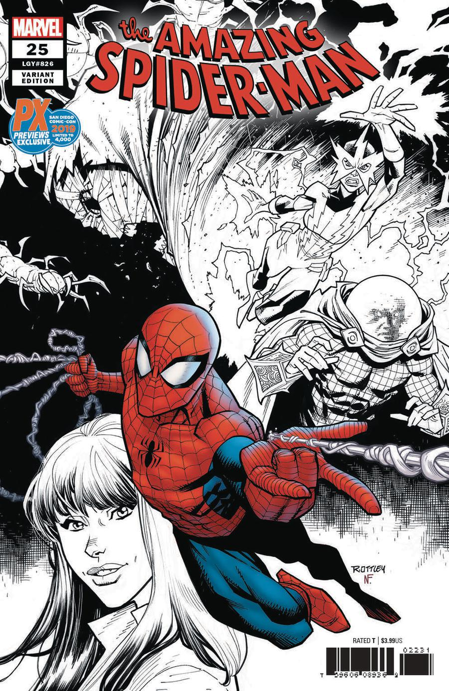Amazing Spider-Man Vol 5 #25 Cover K SDCC 2019 Exclusive Variant Cover