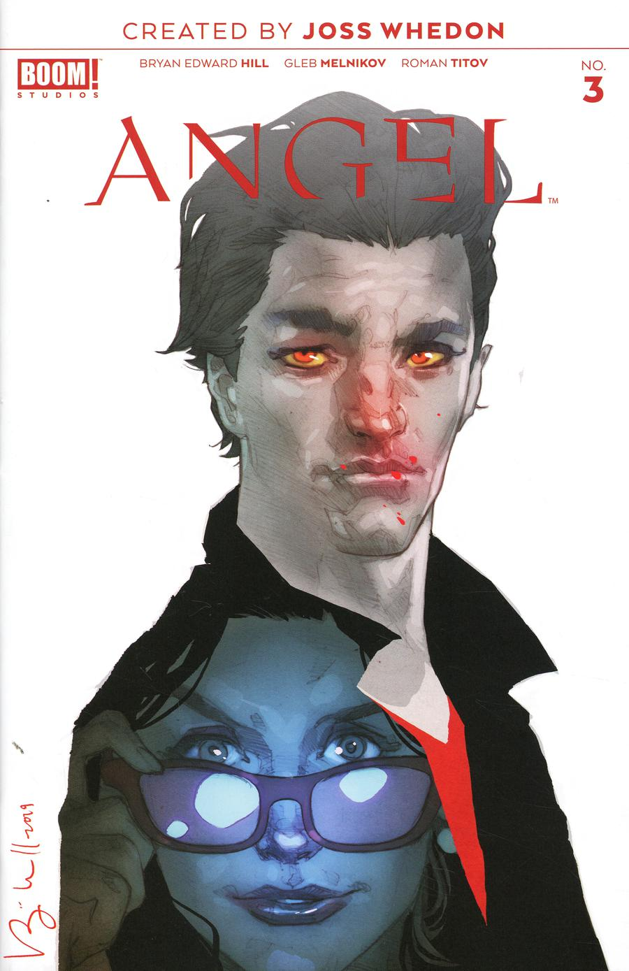 Angel Vol 4 #3 Cover C Incentive Ben Caldwell Variant Cover