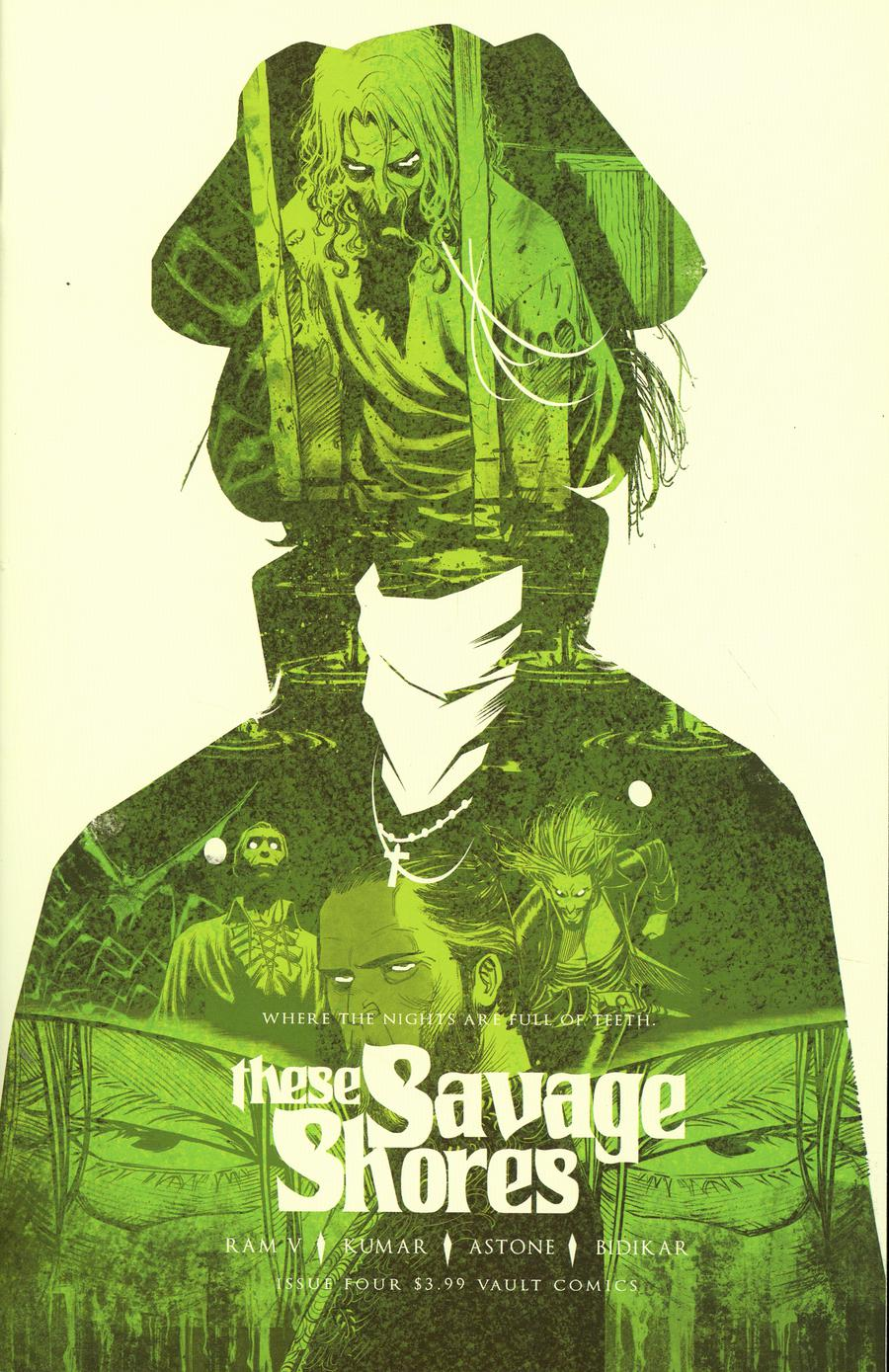These Savage Shores #4 Cover B 2nd Ptg