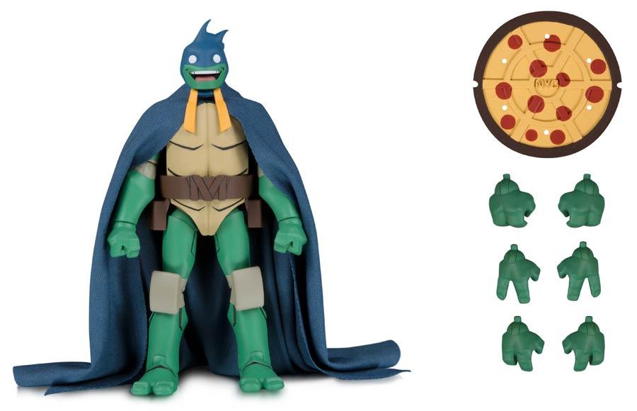 DC Teenage Mutant Ninja Turtles Michelangelo As Batman SDCC 2019 Action Figure