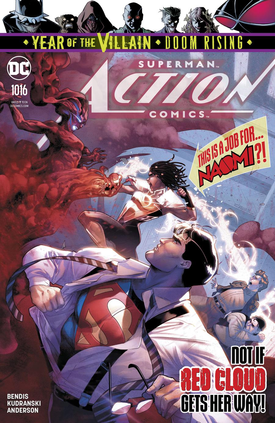 Action Comics Vol 2 #1016 Cover A Regular Jamal Campbell Cover (Year Of The Villain Doom Rising Tie-In)