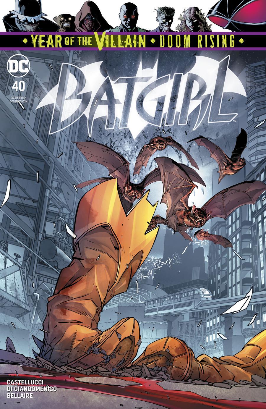 Batgirl Vol 5 #40 Cover A Regular Carmine Di Giandomenico Cover (Year Of The Villain Doom Rising Tie-In)