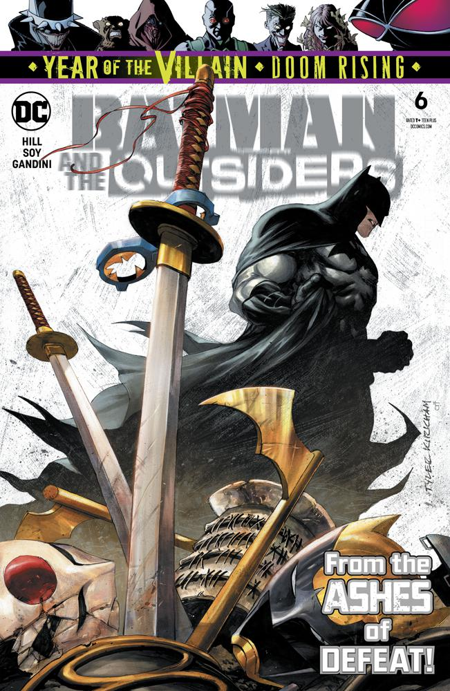 Batman And The Outsiders Vol 3 #6 Cover A Regular Tyler Kirkham Cover (Year Of The Villain Doom Rising Tie-In)