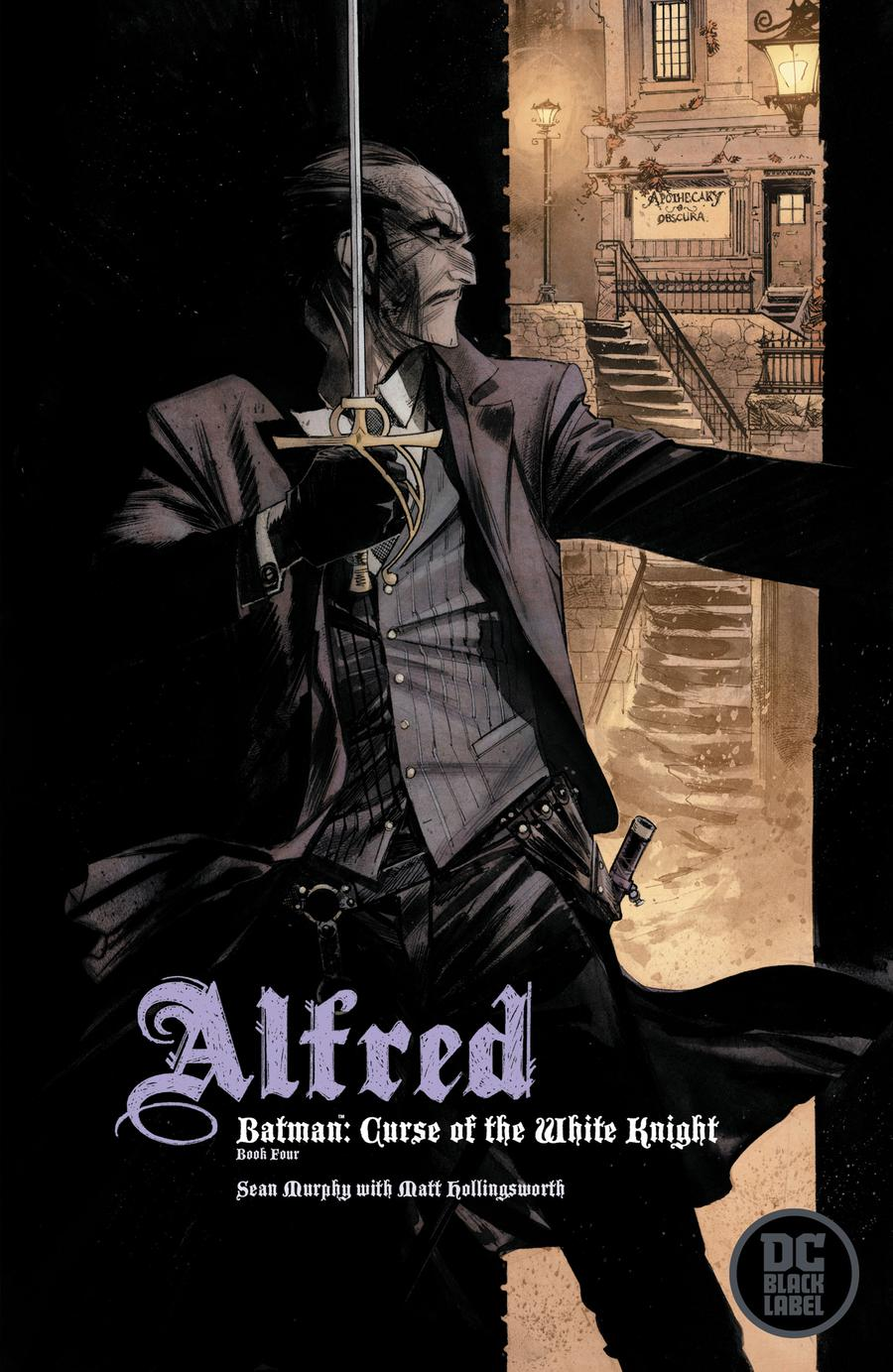 Batman Curse Of The White Knight #4 Cover B Variant Sean Murphy Cover