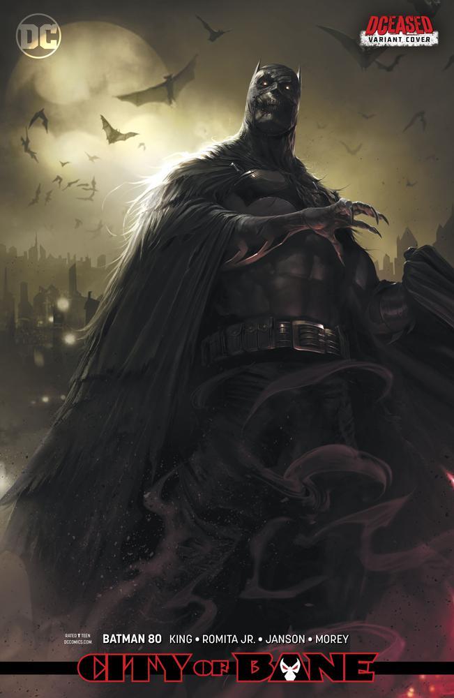 Batman Vol 3 #80 Cover B Variant Francesco Mattina DCeased Card Stock Cover