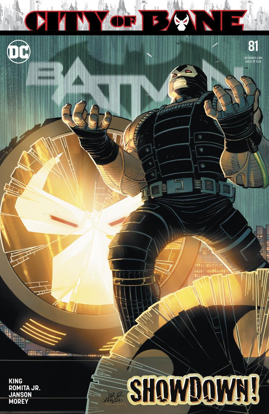 Batman Vol 3 #81 Cover A Regular John Romita Jr & Klaus Janson Cover