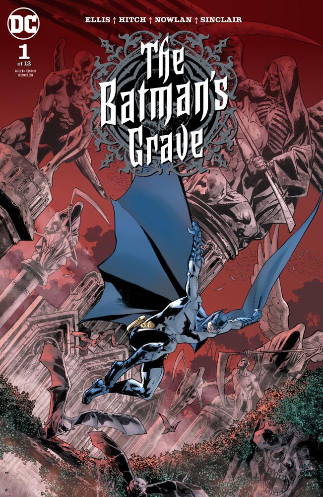 Batmans Grave #1 Cover A Regular Bryan Hitch Cover