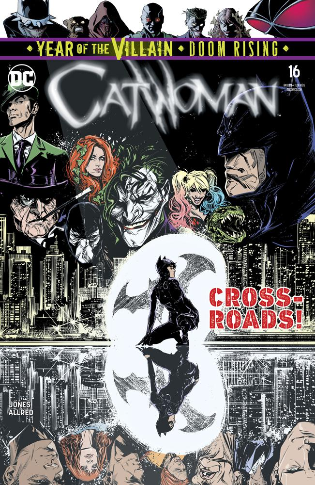Catwoman Vol 5 #16 Cover A Regular Joelle Jones Cover (Year Of The Villain Doom Rising Tie-In)