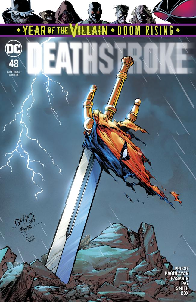 Deathstroke Vol 4 #48 Cover A Regular Ed Benes & Richard Friend Cover (Year Of The Villain Doom Rising Tie-In)